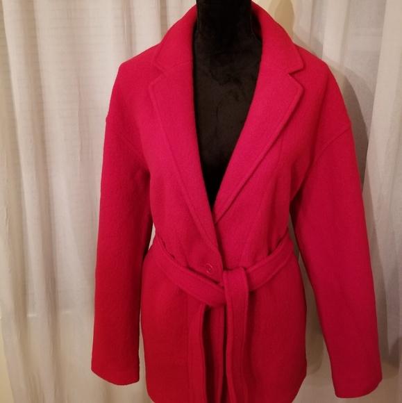 e776e29cb75aa Camille Short Wrap Coat. NWT. J. Crew